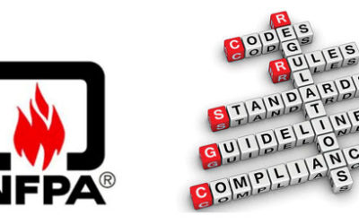The difference between NFPA codes and Standards