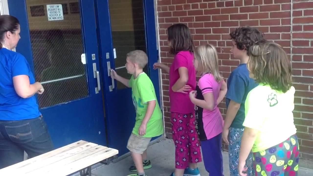 Reverse Evacuation at Schools